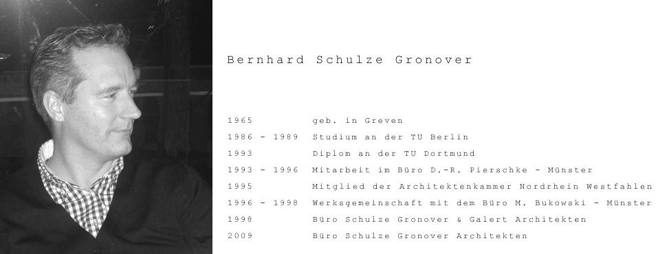 schulze gronover architekten buero biographie 48268. Black Bedroom Furniture Sets. Home Design Ideas